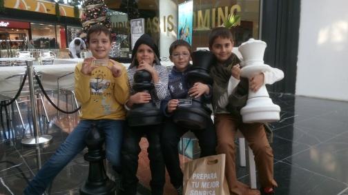 II Torneig d'Escacs Infantil Arena Multiespai